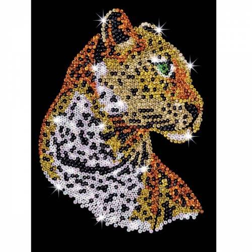 Sequin Art Ltd. Sequin Art Blue Leopard 1208