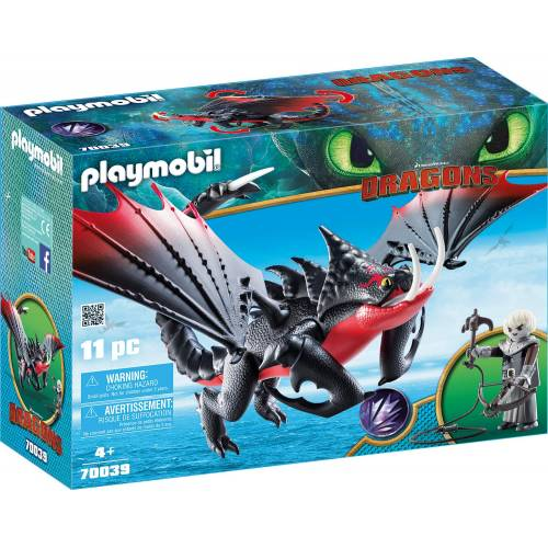 Playmobil 70039 Dragons Deathgripper with Grimmel