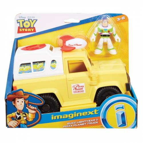 Imaginext Toy Story - Buzz Lightyear & Pizza Planet Truck
