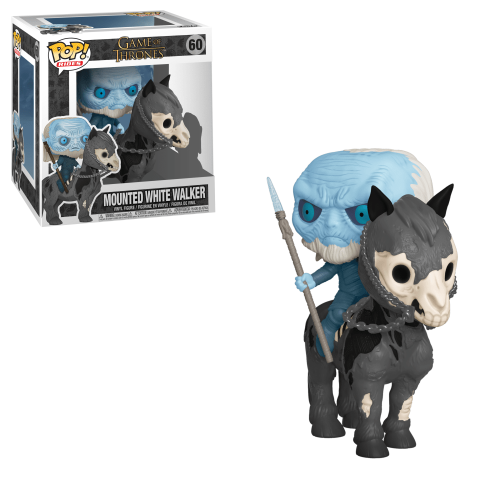Funko Pop Vinyl Mounted White Walker 60