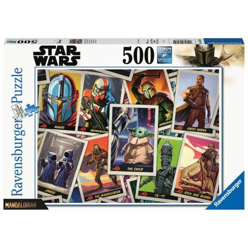 Ravensburger 500 Piece Puzzle Star Wars The Mandalorian