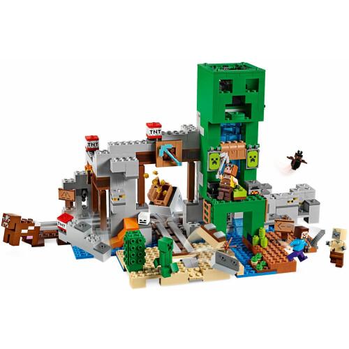 Lego 21155 Minecraft The Creeper Mine