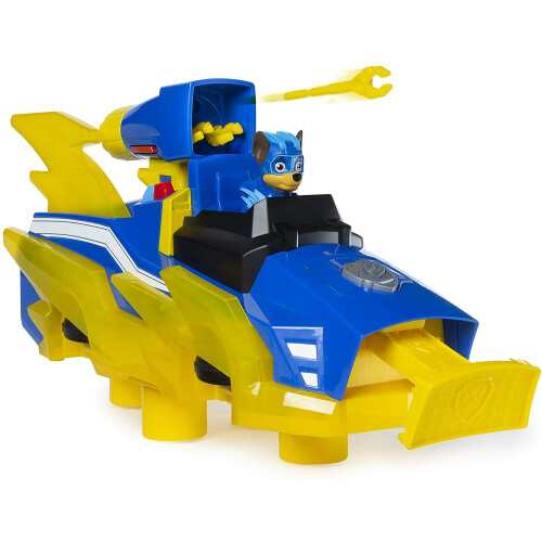 Paw Patrol Mighty Pups Charged Up - Chase Transforming Vehicle