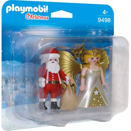 Playmobil 9498 Christmas Santa and Christmas Angel