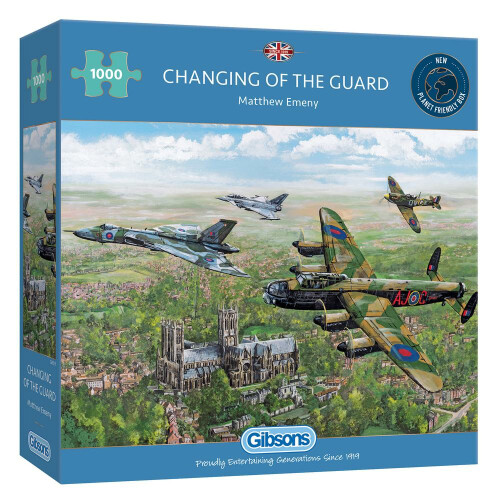Gibsons Changing Of The Guard 1000pc Puzzle