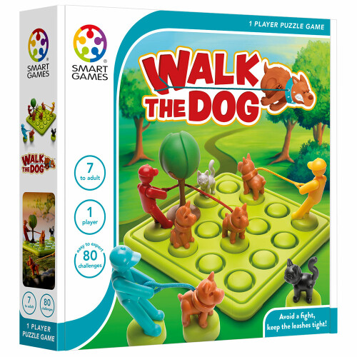 Puzzle Game - Walk the Dog