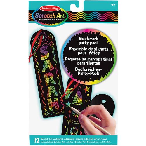 Melissa & Doug Scratch Art Bookmark Party Pack