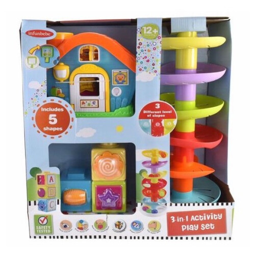 Infunbebe 3-in-1 Activity Playset