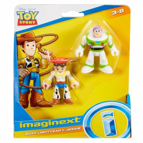 Imaginext Toy Story - Buzz Lightyear & Jessie