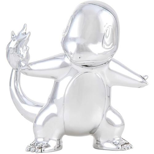 "Pokemon 3"" Silver Charmander Figure 25TH Celebration"