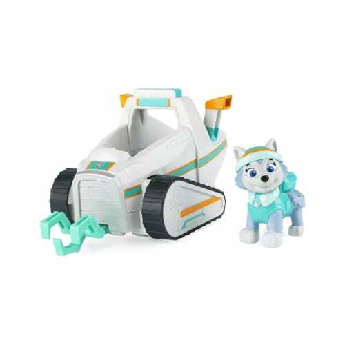 Paw Patrol Basic Vehicle with Pup - Everest Snow Plow
