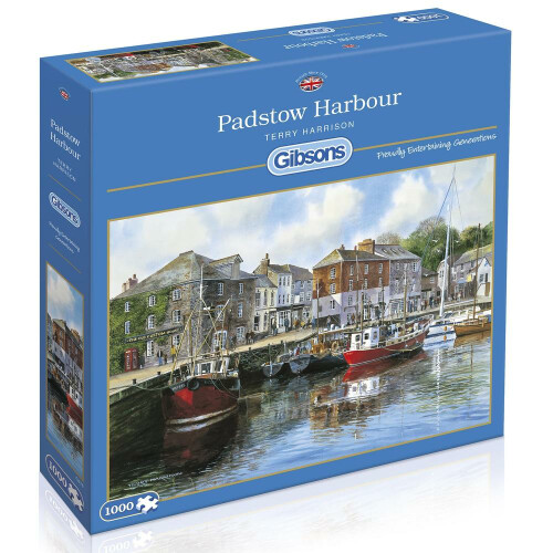 Gibsons Padstow Harbour 1000pc Puzzle
