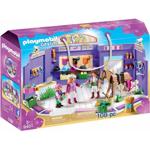 Playmobil 9401 City Life Horse Tack Shop