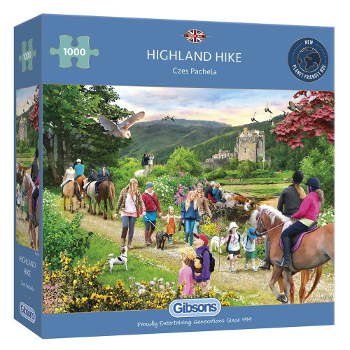 Gibsons Highland Hike 1000pc Puzzle
