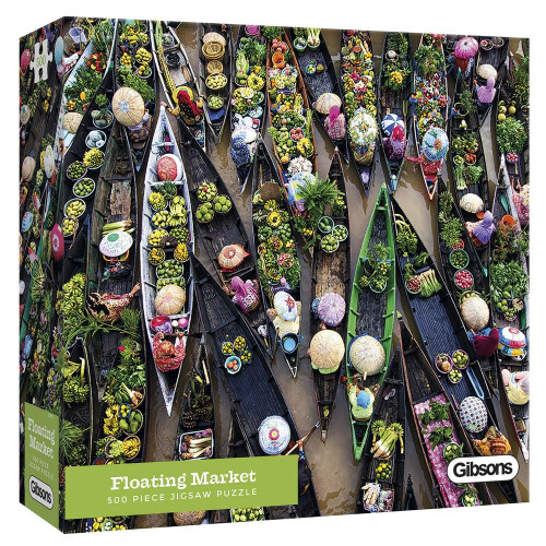 Gibsons Floating Market 500pc Puzzle