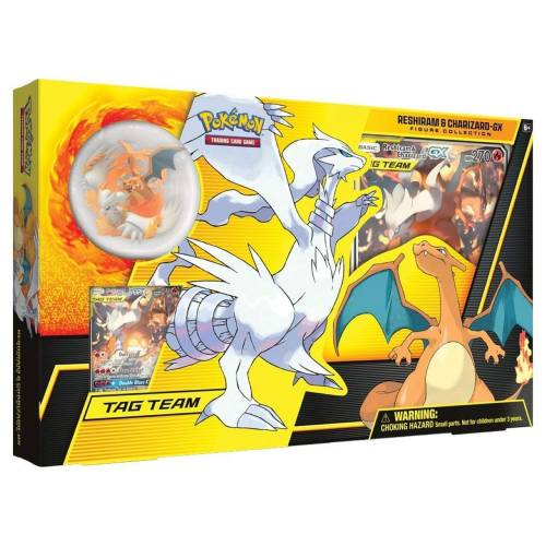 Pokemon TCG Reshiram & Charizard-GX Figure Collection