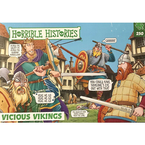 Horrible Histories - Vicious Vikings 250pc Puzzle