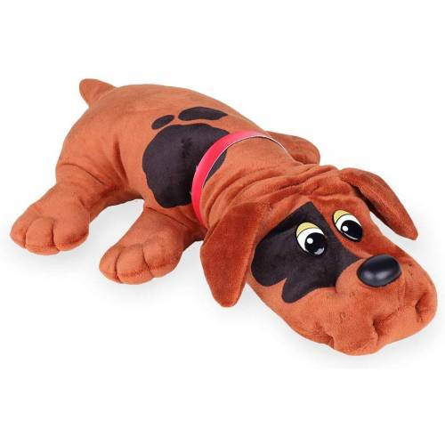 Pound Puppies Classic 17 Inch - Red with Black Spots