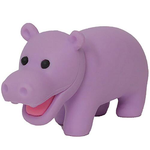 Iwako Puzzle Eraser - Wild Animals - Hippo (Purple)