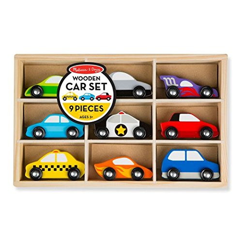 Melissa and Doug Car Set (9 Pieces)