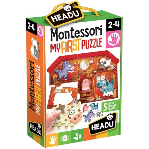 Headu - Montessori First Puzzle