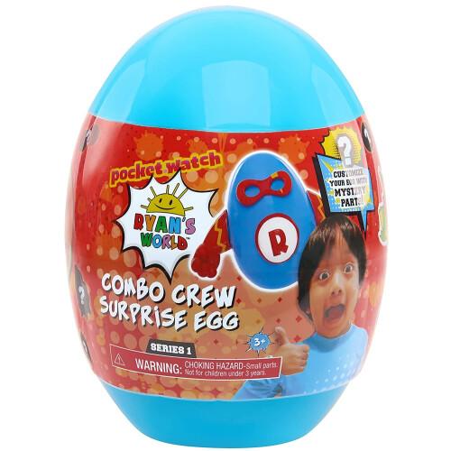 Ryan's World Mystery Combo Crew Surprise Egg