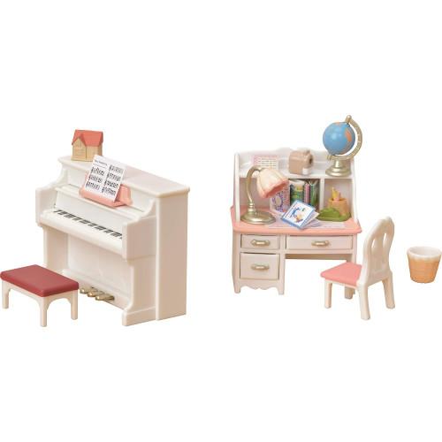 Sylvanian Families Piano & Desk Set