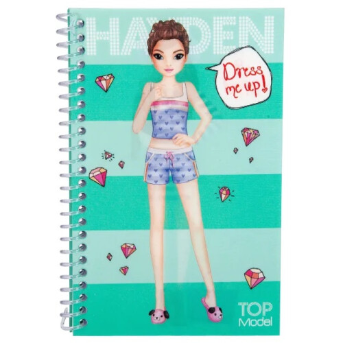Depesche Top Model Dress Me Up Pocket Stickerbook - Hayden