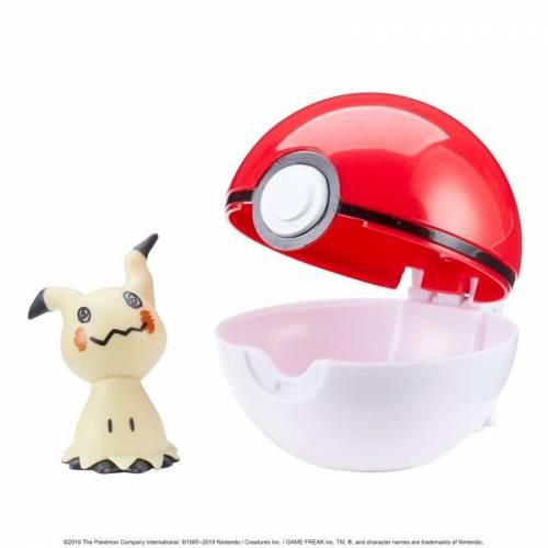 Pokemon Clip 'n' Go - Mimikyu & Poke Ball