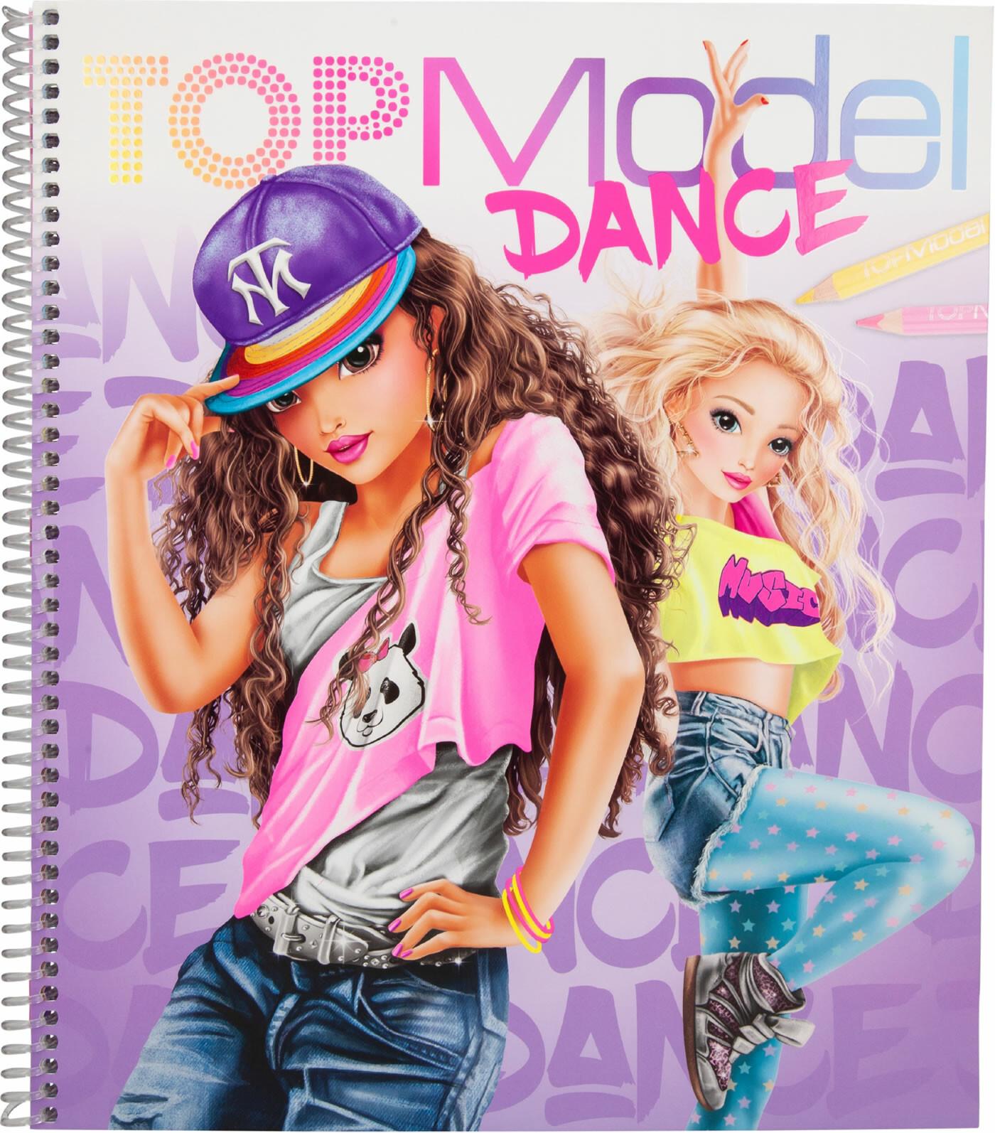 depesche top model dance book  toys n tuck