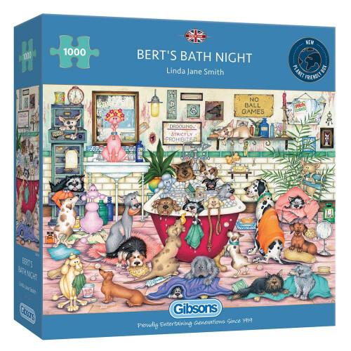 Gibsons Bert's Bath Night 1000pc Puzzle
