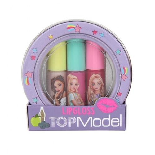 Depesche Top Model Mini Lipgloss Set - Purple