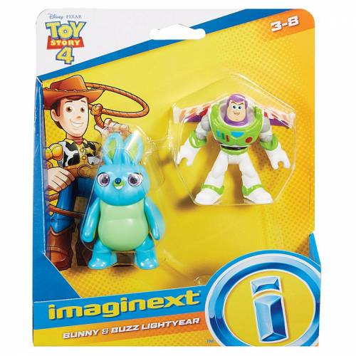 Imaginext Toy Story - Bunny & Buzz Lightyear