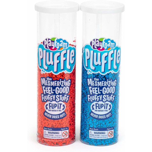Playfoam Pluffle 2 Pack - Blue & Red