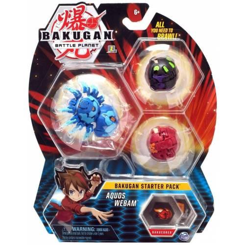 Bakugan Starter Pack - Aquos Webam