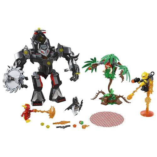 Lego 76117 Super Heroes Batman Mech vs. Poison Ivy Mech