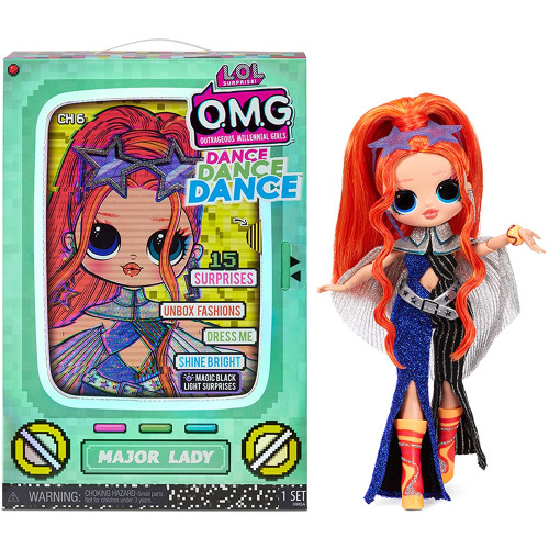 LOL Surprise! OMG Dance Dance Dance Major Lady