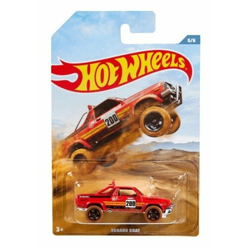 Hot Wheels Off Road Trucks - Subaru Brat