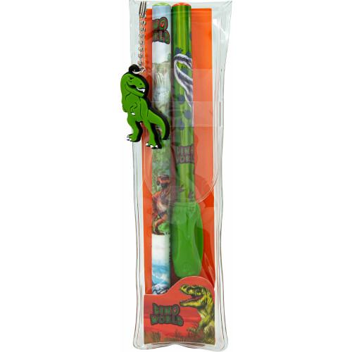 Dino World Pencil Set