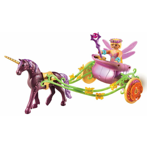 playmobil 9136 unicorndrawn fairy carriage  toys n tuck