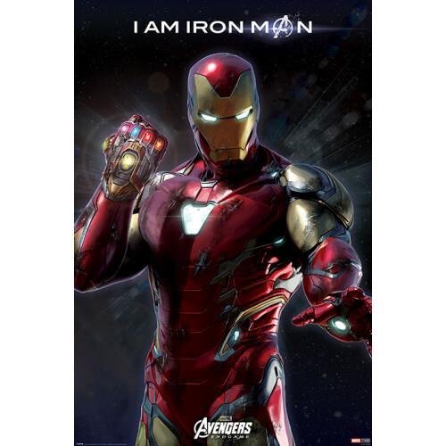 Maxi Posters - Avengers: Endgame (I Am Iron Man)