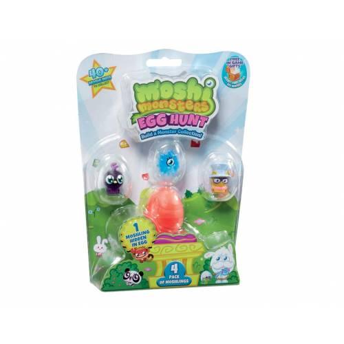 Moshi Monsters Egg Hunt - 4 Pack
