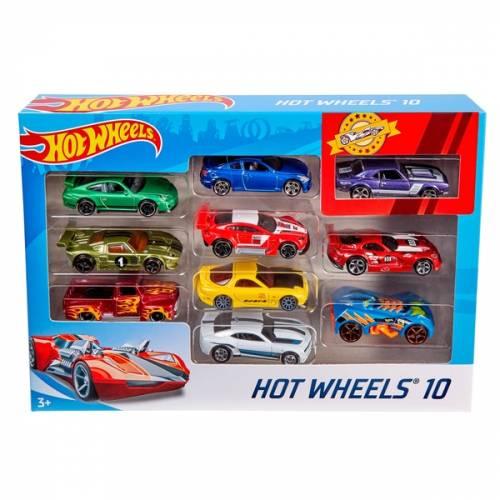 Hot Wheels 10 Car Pack - Assortment