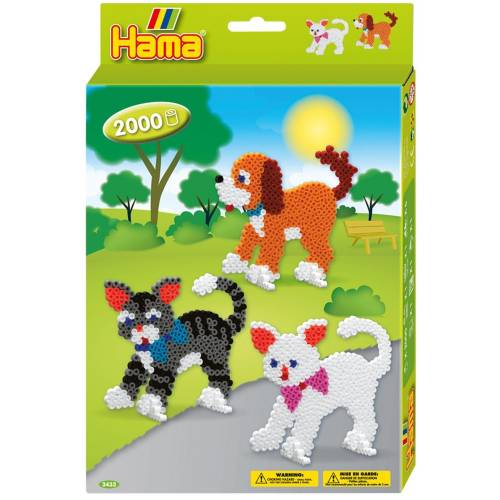 Hama Beads 3433 Dogs and Cats