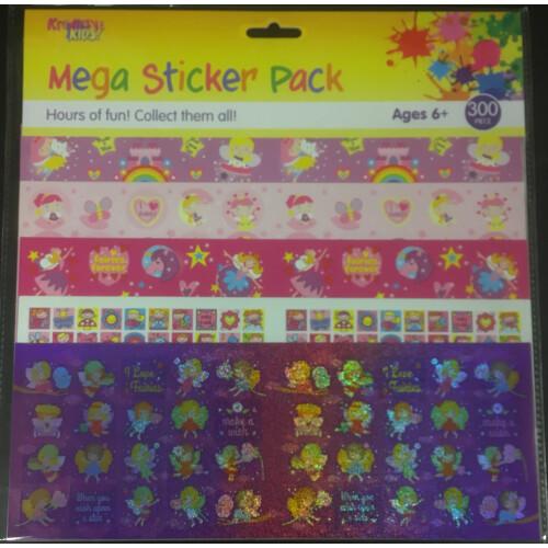 Mega Sticker Pack - Fairies