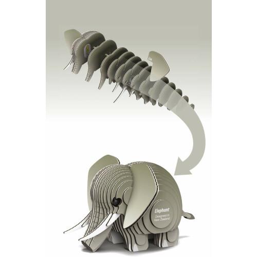 Eugy - 3D Model Craft Kit - Elephant