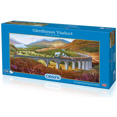 Gibsons Glenfinnan Viaduct 636pc Puzzle