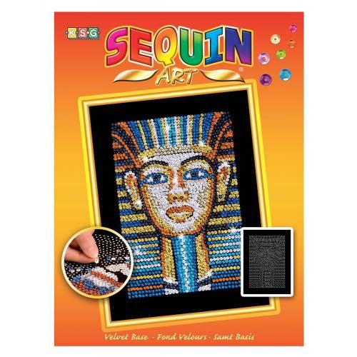Sequin Art Limited. Sequin Art Orange Tutankhamun 1606