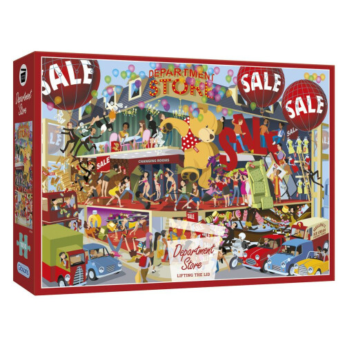 Gibsons Lifting the Lid Department Store 1000pc Puzzle
