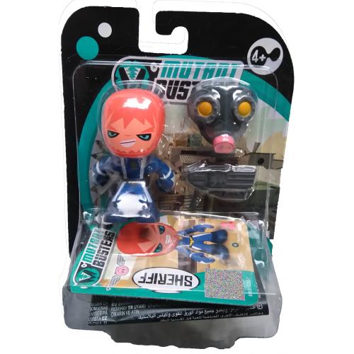 Mutant Busters Figure - Sheriff